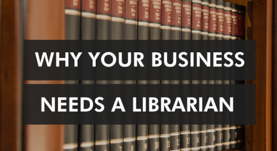 business needs librarian